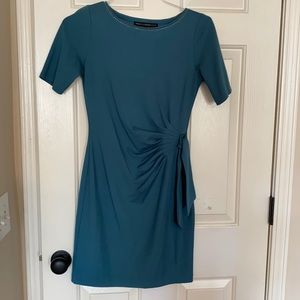 White House Black Market blue casual dress